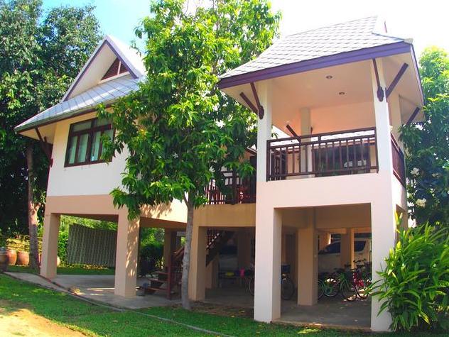 บ้านพักกาญจนบุรีบรรยากาศมัลดีฟส์เมืองไทย